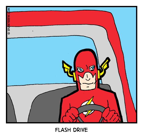 Flash Drive - webcomic strip