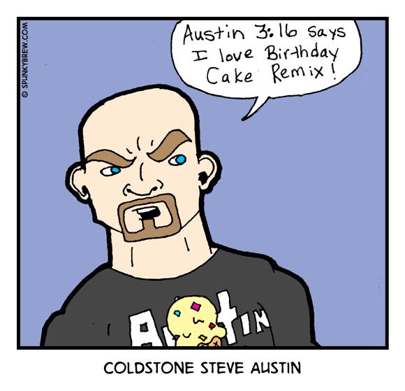 Coldstone Steve Austin - webcomic strip
