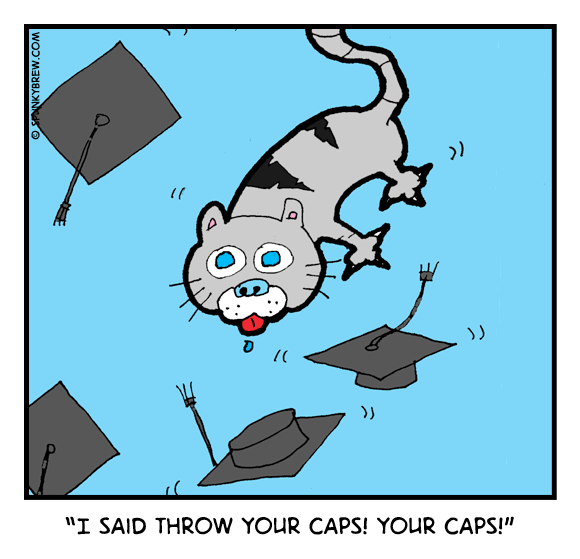 Throw Your Caps - webcomic strip