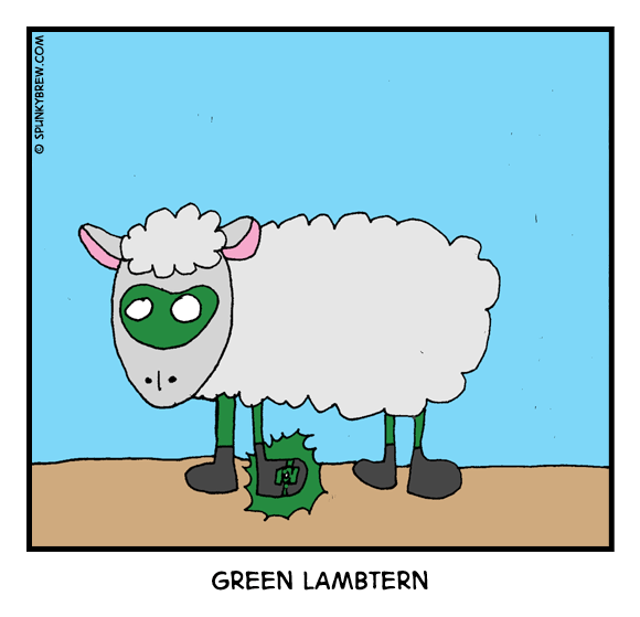 Green Lambtern - webcomic strip